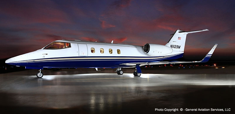 1981 1987 Lear 55 General Aviation Services